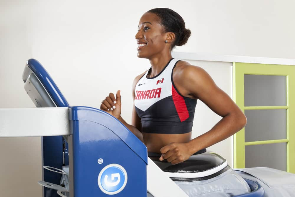 Olympic Athlete PG on AlterG Anti-Gravity Treadmill