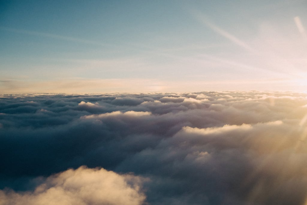 sunny skies above the clouds - a metaphor for dementia exercise therapy